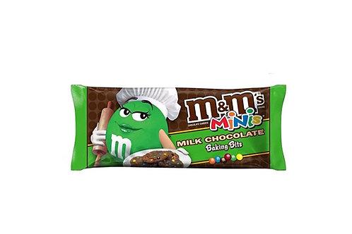 M&M's, Mini Baking Bits, 25 lbs.