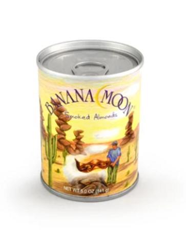 Banana Moon, Smoked Almonds, 48 ct. x 5 oz.