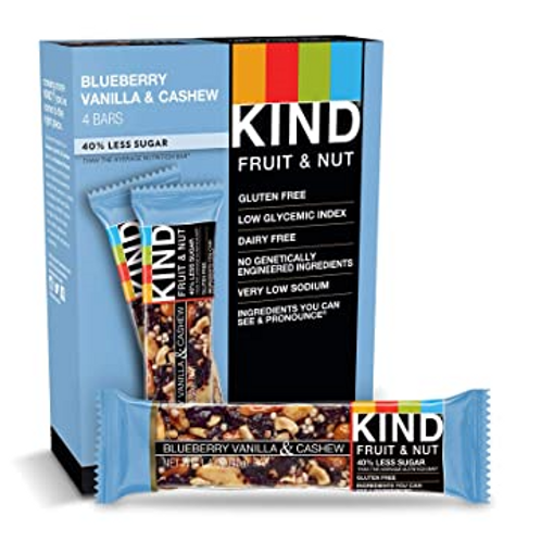 Kind Bars; Blueberry Vanilla Cashew, 12 ct.