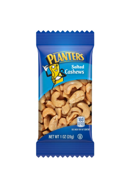 _Planters, Salted Cashews, 24 ct.