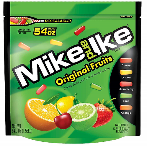 _Mike & Ike, Fruit Candy, 3.5 lbs