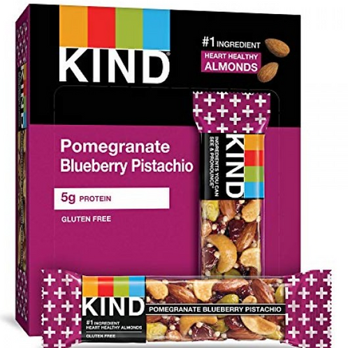 _Kind Bars; Pomegranate Blueberry Pistachio, 12 ct.