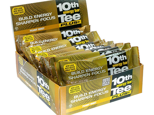 Golf Energy, 10th Tee, Honey Peanut, 12 ct.