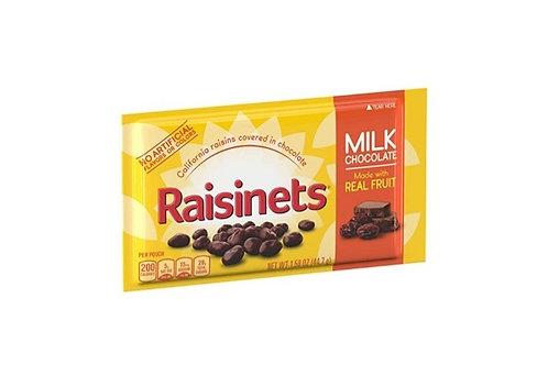 Raisinets Milk Chocolate Covered Raisins,36 ct.