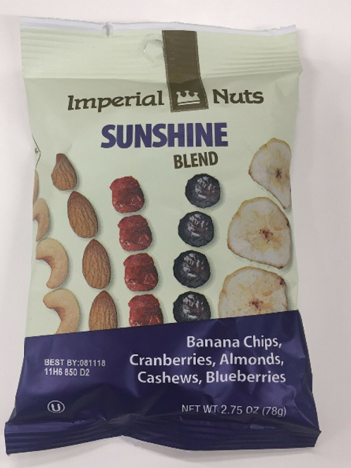 Imperial Nuts Blends; Sunshine, 18 ct.