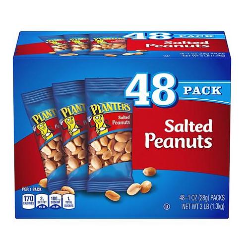 Planters, Salted Peanuts, 48 ct.