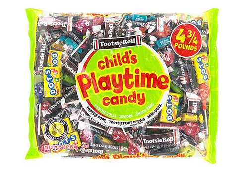 Tootsie Roll, Child's Play Time Candy, 4.75 lbs.