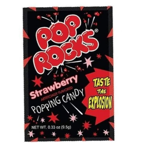Pop Rocks Crackling Candy, Strawberry, 24 ct.
