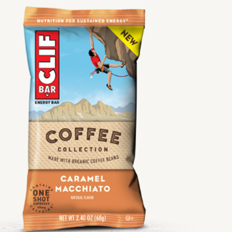 Clif Bars, Organic, Caramel Toffee with Sea Salt, 12 ct.