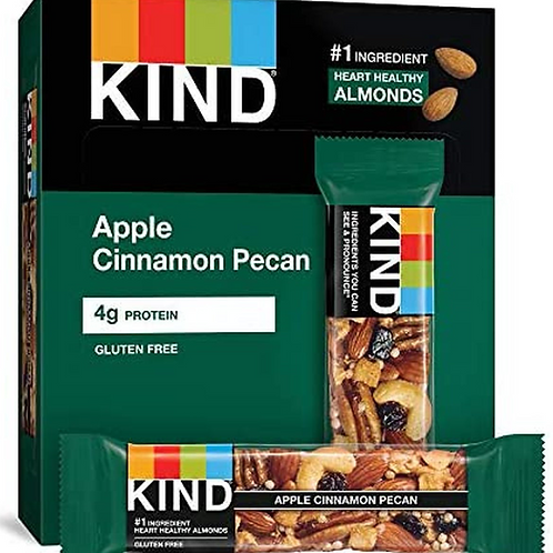 _Kind Bars; Apple Cinnamon & Pecan, 12 ct.