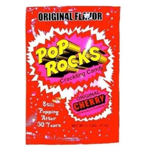 Pop Rocks Crackling Candy, Cherry, 24 ct.