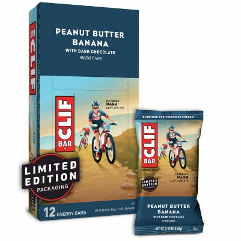 Clif Bars, Organic, Peanut Butter Banana, 12 ct.