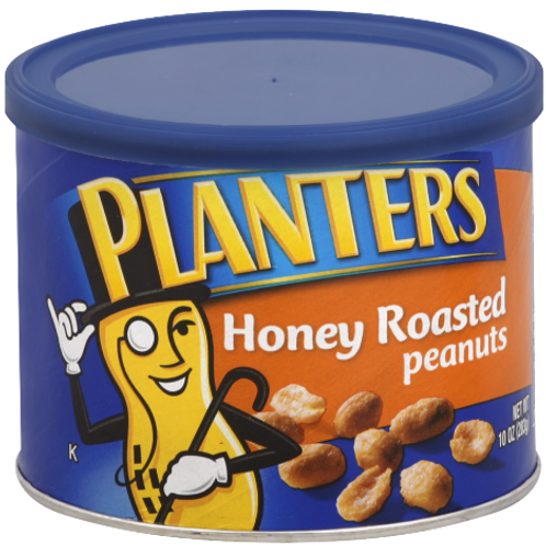 _Planters Roasted Peanuts, Honey Roasted, 2 ct.