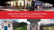 Circuito Turístico lança projeto que retrata os bens culturais do Caminho Novo