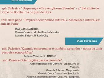 Evento sobre Empreendedorismo Cultural e Turismo na UFJF