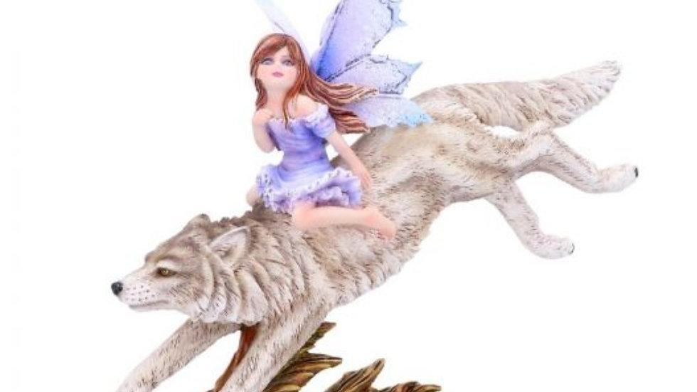 Wolf rider 18cm