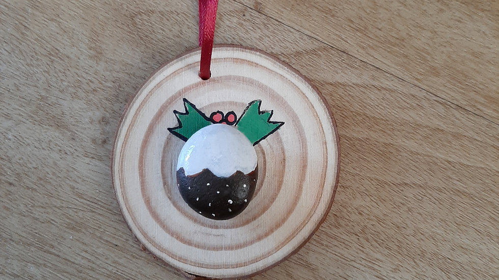 """Christmas pudding"" Decoration"