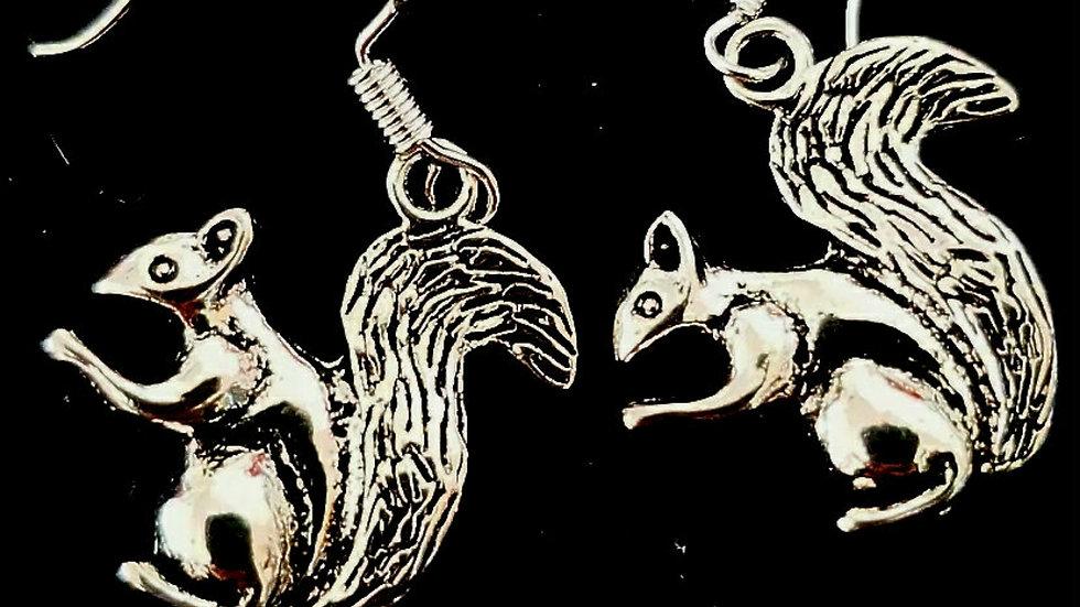 Squirrel earrings (925)