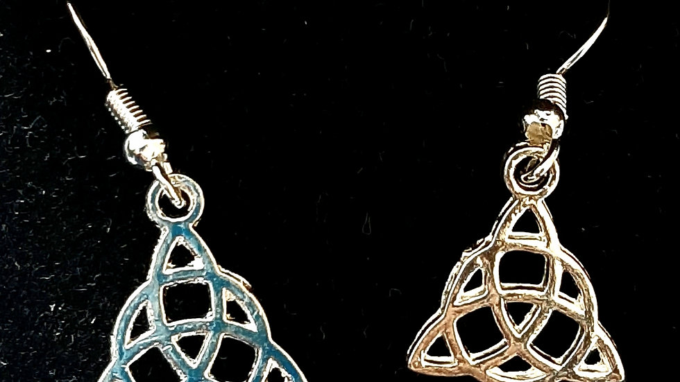 Celtic knot earrings (925)