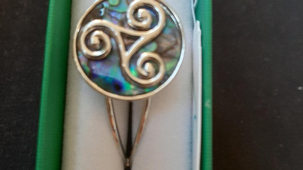Tide bangle (925 silver)