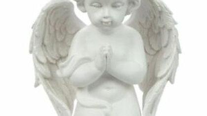 Kneeling cherub