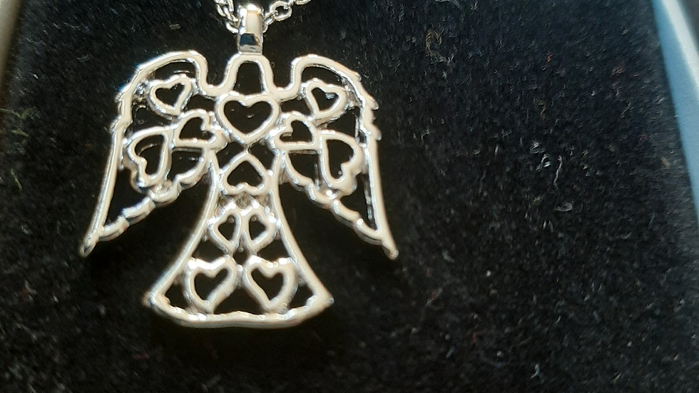 Wish angel necklace