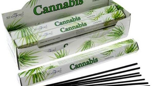 Cannabis incense sticks