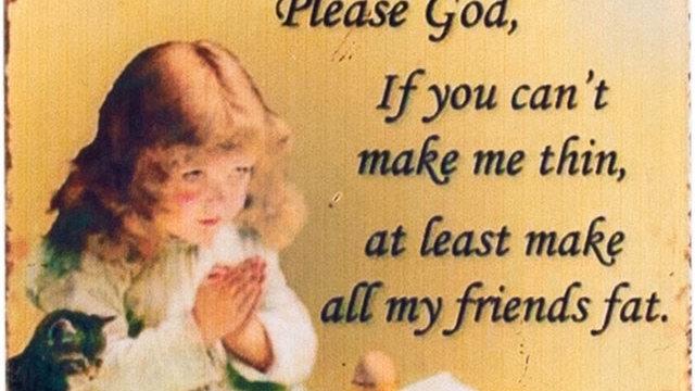 Please God Magnet