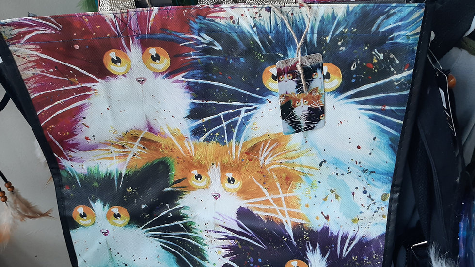 Cats shopper bag
