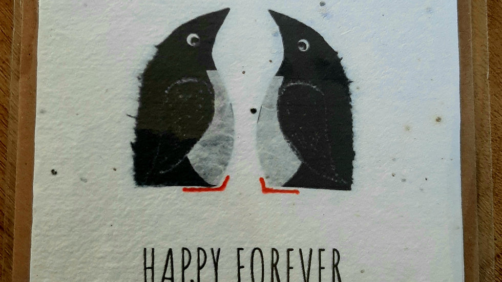 Happy forever eco seed card