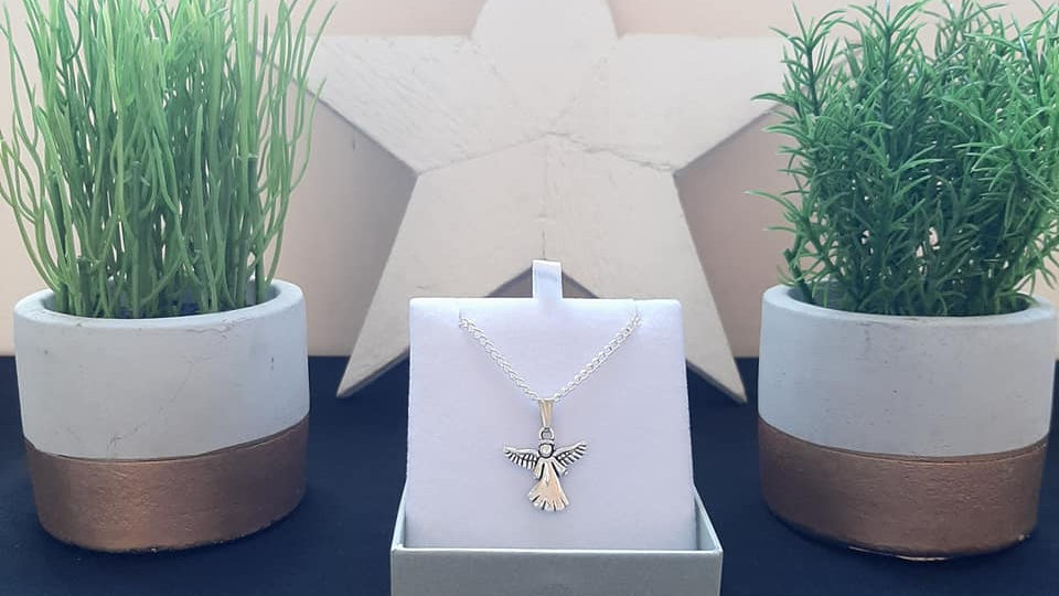 925 Silver Angel necklace