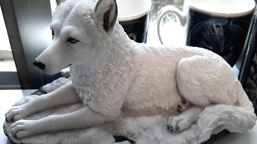 Wolf  white shadow 22cm