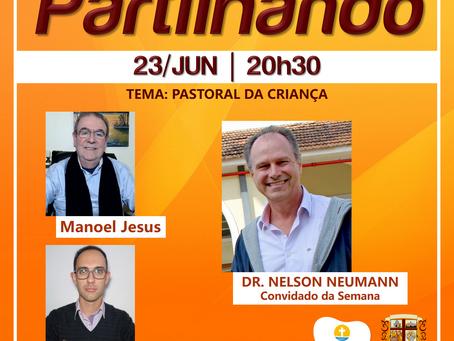 PARTILHANDO RECEBE COORDENADOR INTERNACIONAL DA PASTORAL DA CRIANÇA