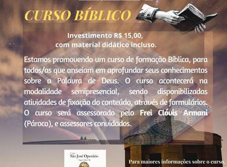 Paróquia São José Operário oferece curso bíblico