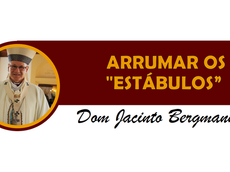 """ARRUMAR OS """"ESTÁBULOS"""""""