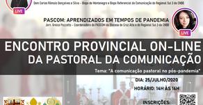 Encontro Provincial da Pastoral da Comunicação