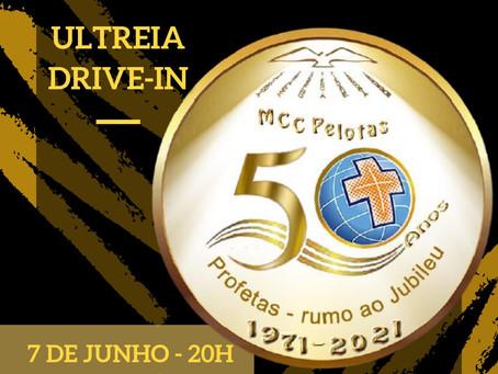CURSILHO PREPARA ULTRÉIA DRIVE-IN EM COMEMORAÇÃO AO JUBILEU DE OURO