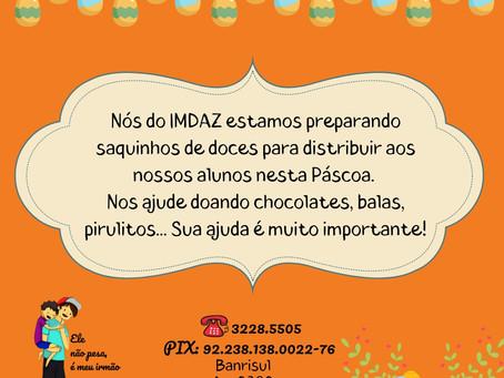 Campanha do IMDAZ para a Páscoa