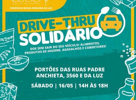 DRIVE-THRU SOLIDÁRIO DA PARÓQUIA DA LUZ!
