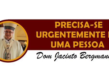 PRECISA-SE URGENTEMENTE DE UMA PESSOA
