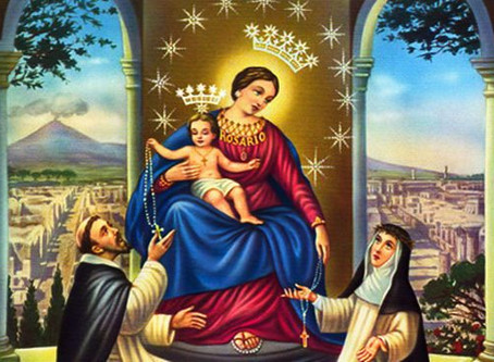 Novena e Festa de Nossa Senhora do Rosário