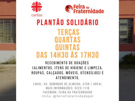 Fazendo juntos na Pandemia: Ações sociais da Cáritas Arquidiocesana de Pelotas