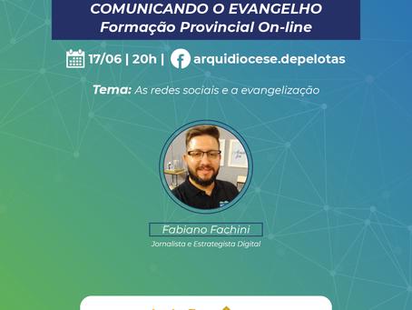 COMUNICANDO O EVANGELHO -Formação Provincial On-line