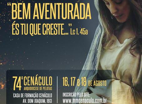 74º Cenáculo da Arquidiocese de Pelotas
