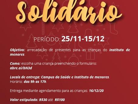 CAMPANHA NATAL SOLIDÁRIO - IMDAZ