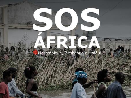 "Campanha ""SOS África: Moçambique, Zimbábue e Maláui"""