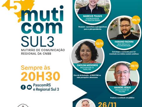 PASCOM DO RIO GRANDE DO SUL PROMOVE MUTIRÃO DA COMUNICAÇÃO