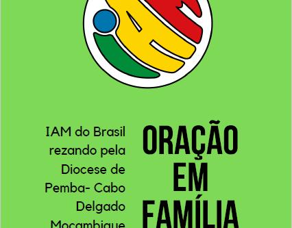 IAM do Brasil rezando pela diocese de Pemba