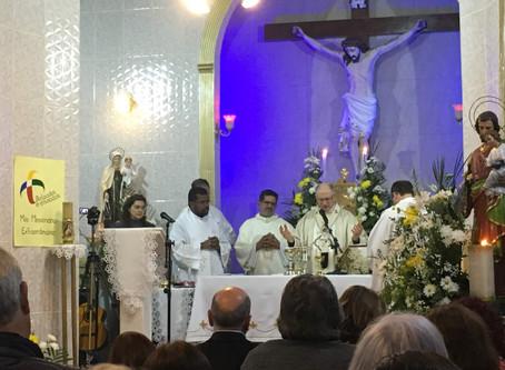 Carmelo Coração Eucarístico de Jesus celebra profissão religiosa solene da Ir. Gabriela Maria