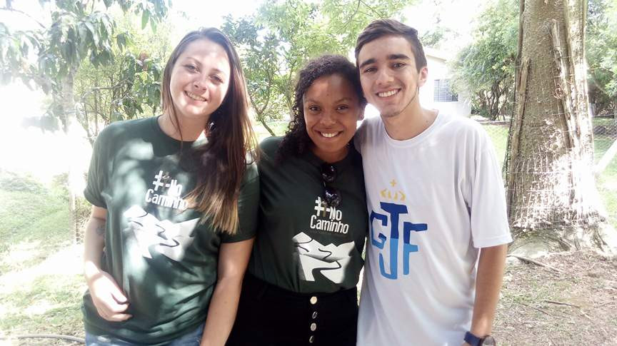 Carolina, Luiza e Francisco